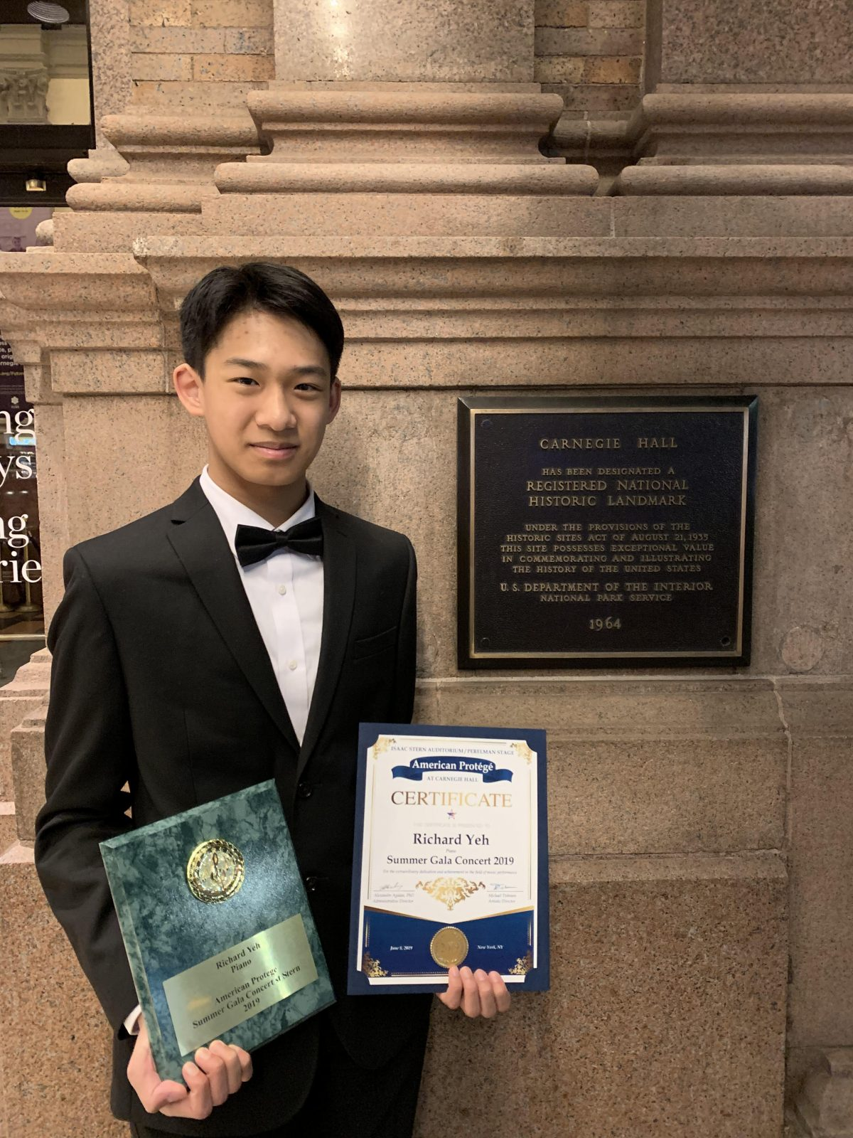 St. Brother Andre student plays Carnegie Hall