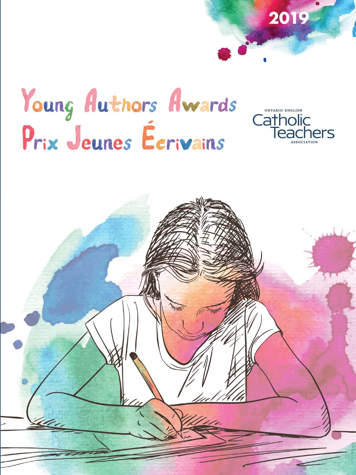 Congratulations to our 2019 OECTA Young Authors