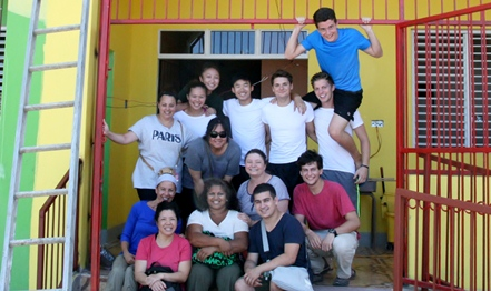 Serving at the Missionaries of the Poor in Jamaica
