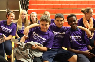 Students say #yeswewill at Cyberbullying Awareness Event