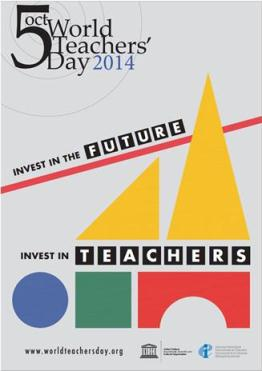 World Teachers' Day is October 5th