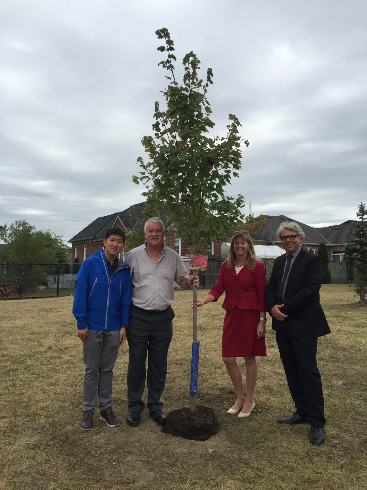 Canada's Sesquicentennial Tree Planting and Thanksgiving Ceremony at St. Julia Billiart