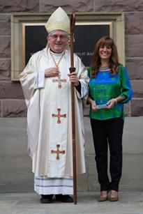 St. Stephen CES Teacher receives the Mother Delphine Award for Service