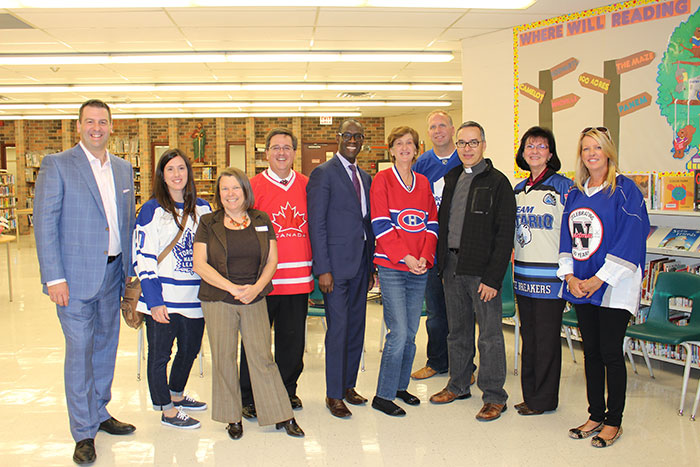 St. Paul CES students celebrate hometown hockey