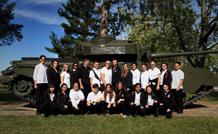 Vimy Explored by Student Delegates at CFB Borden