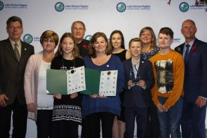 St. Nicholas honoured with Award from LSRCA