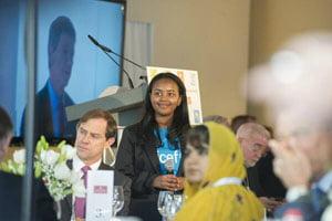 St. Elizabeth student a UNICEF ambassador