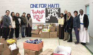 """One for Haiti"" Food Drive a great success"