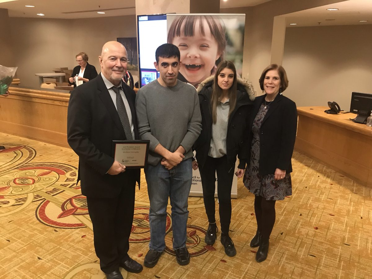 YCDSB employee, student and alumni honoured at the Ontario CEC's 62nd Annual Special Education Conference