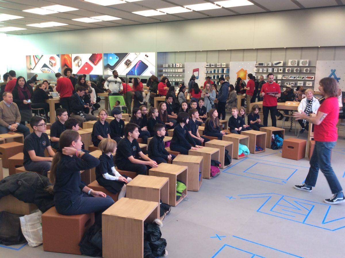 SPP Coders learn from Apple App Developers