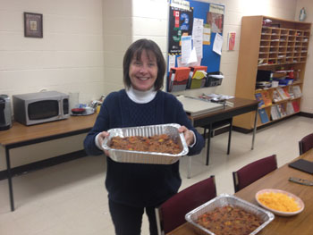 St. Justin Martyr staff collect items, prepare food for the Good Shepherd
