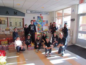 St. Angela Merici school community supports charities close to the heart