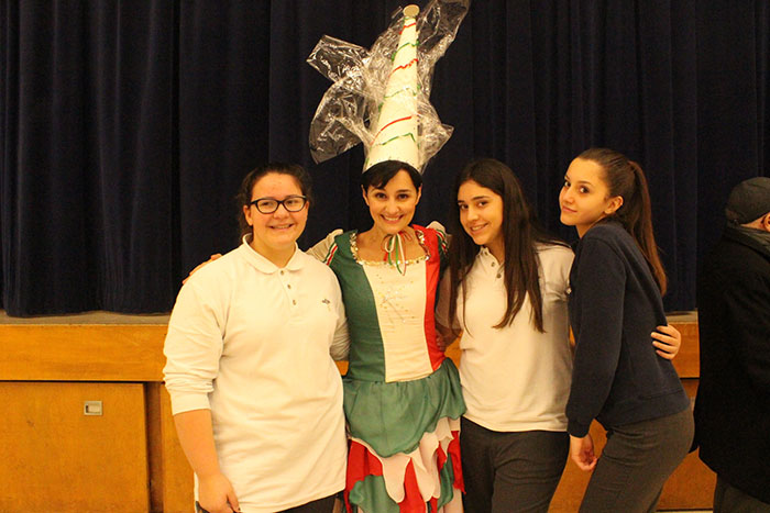 La Fata Italiana visits York Catholic students