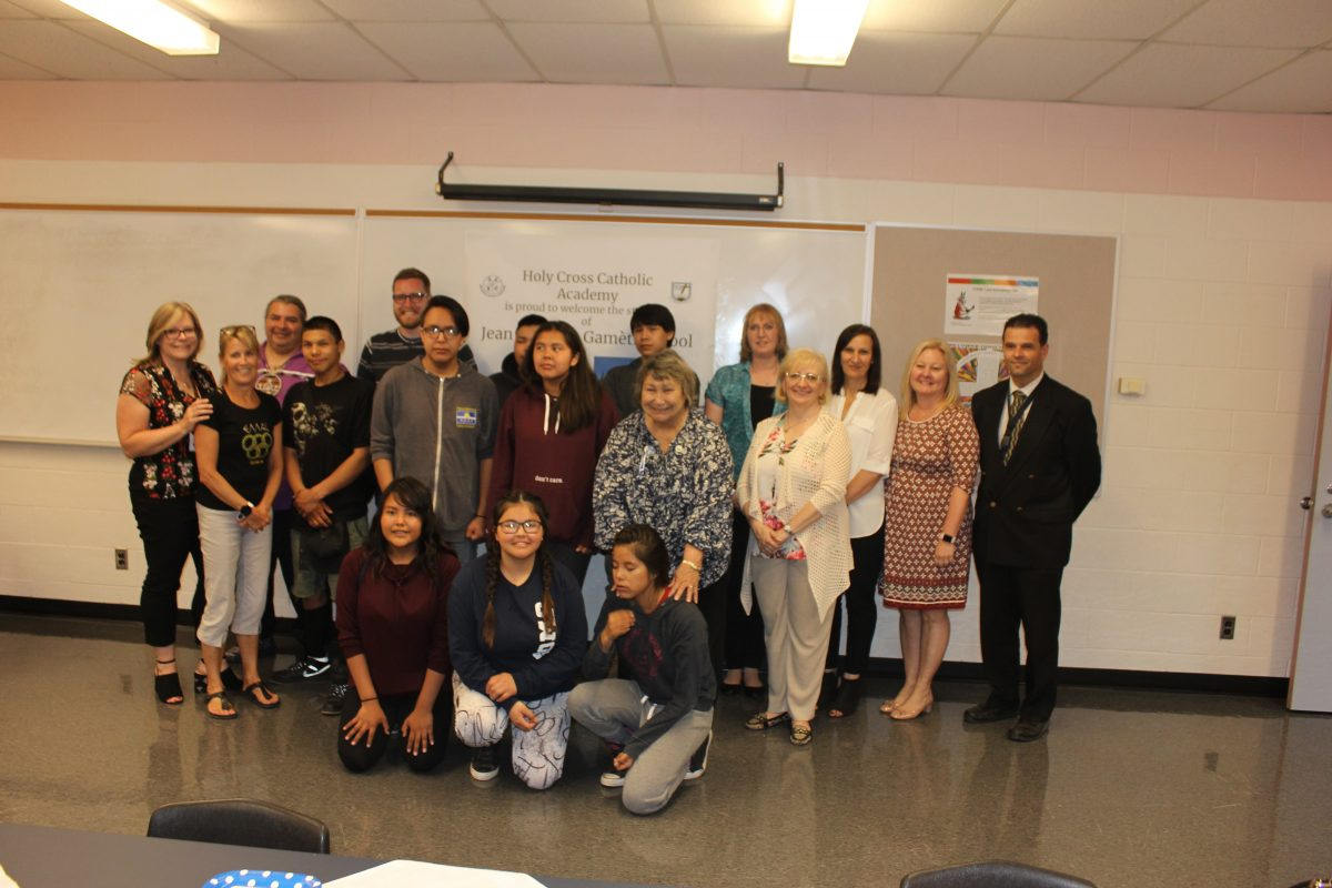 Students from Gamètì, Northwest Territories visit Holy Cross CA