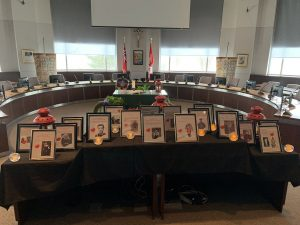 Students and staff across York Catholic honoured Canadian heroes on Remembrance Day