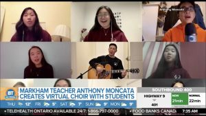 Father Michael McGivney's Music Council sing their way onto Breakfast Television