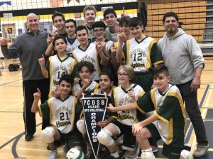 Holy Name CES wins 2019 Boys Volleyball Championship Title