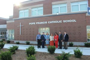 Families gather to mark opening of new school, Pope Francis CES in Kleinburg