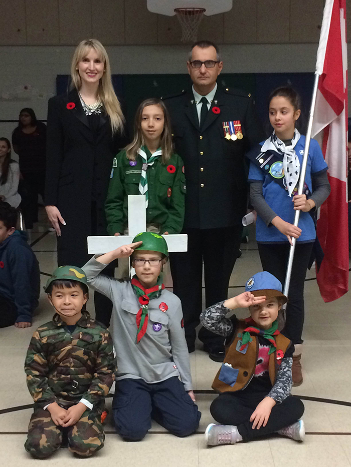 St. Joseph the Worker CES welcomes Warrant Officer, Carmine Corrado