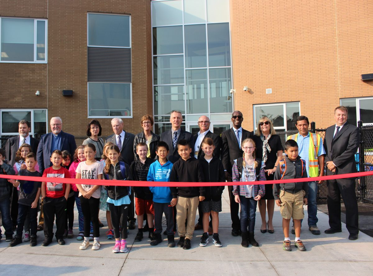 Students marvel at new Our Lady of Good Counsel school facility on the first day of school