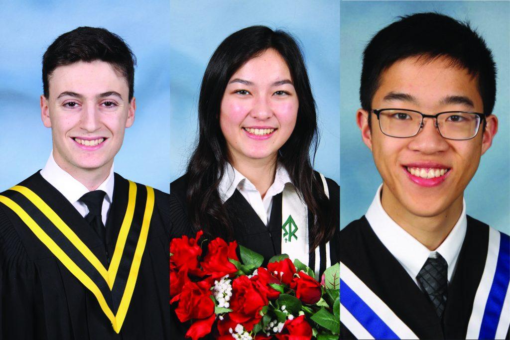 Three York Catholic students graduate with a perfect 100 per cent average