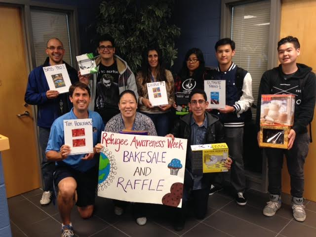 Jean Vanier Catholic High School contributes to Project Hope in support of Syrian Refugees