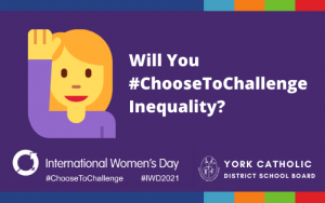 Choose to Challenge – International Women's Day 2021