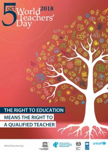 YCDSB celebrates World Teachers' Day, October 5th