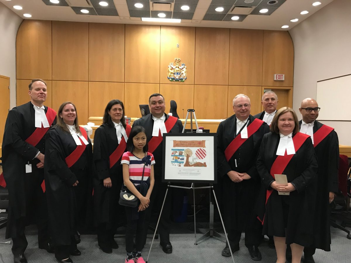 St. Charles Garnier Student Wins Canadian Charter of Rights and Freedoms Poster Challenge