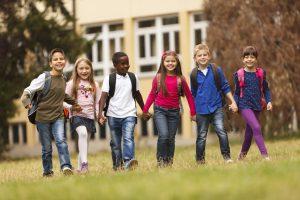 October is International Walk to School Month