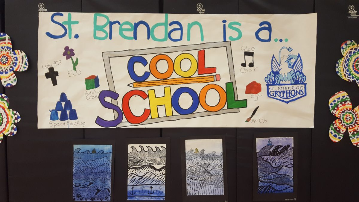 "St. Brendan C.S. Voted One of GTA's ""REAL COOL SCHOOLS"""
