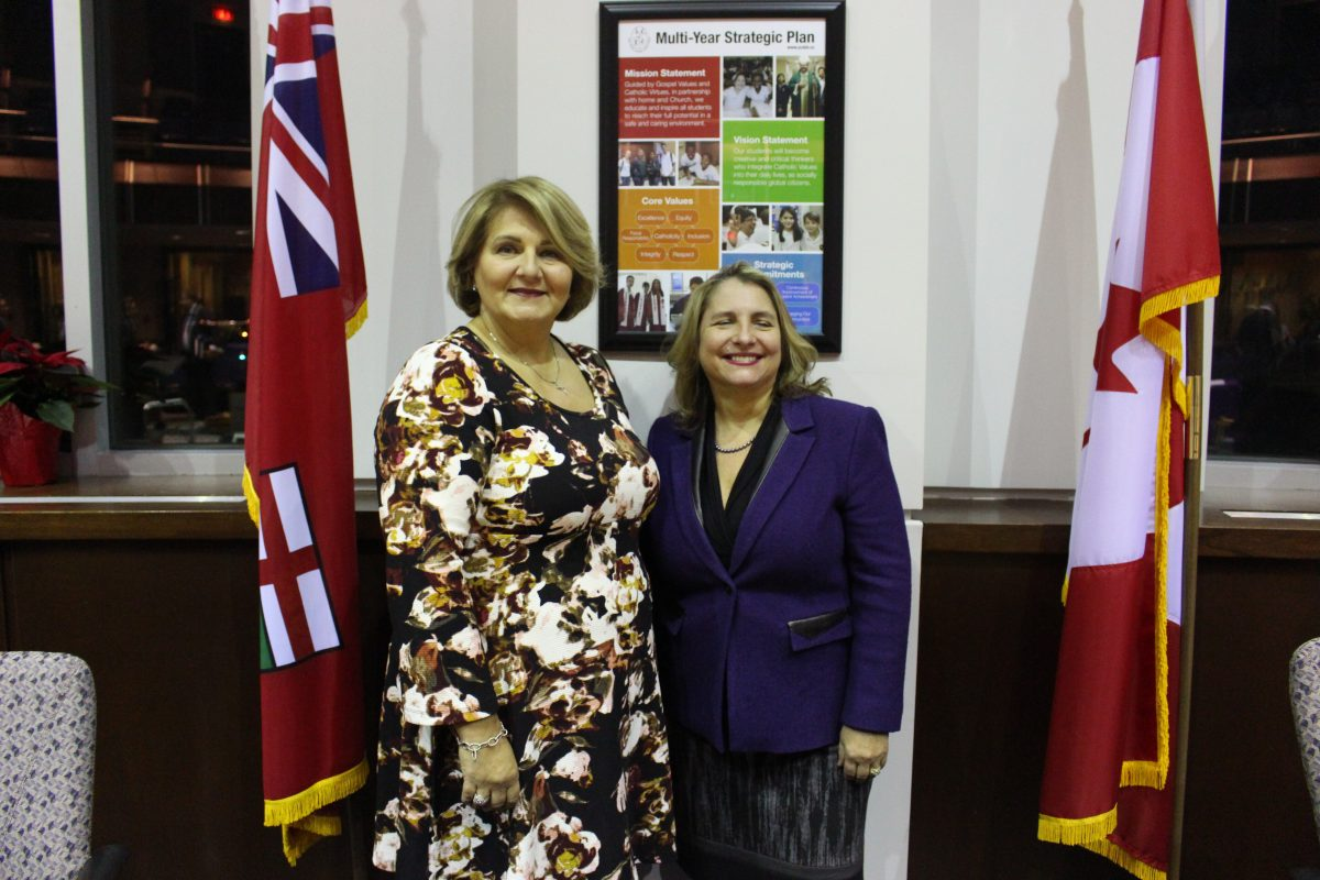 Congratulations to YCDSB's New Chair and Vice-Chair