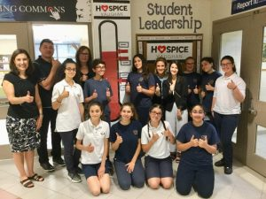 St. Padre Pio CES raises $7,000 for Hospice Vaughan