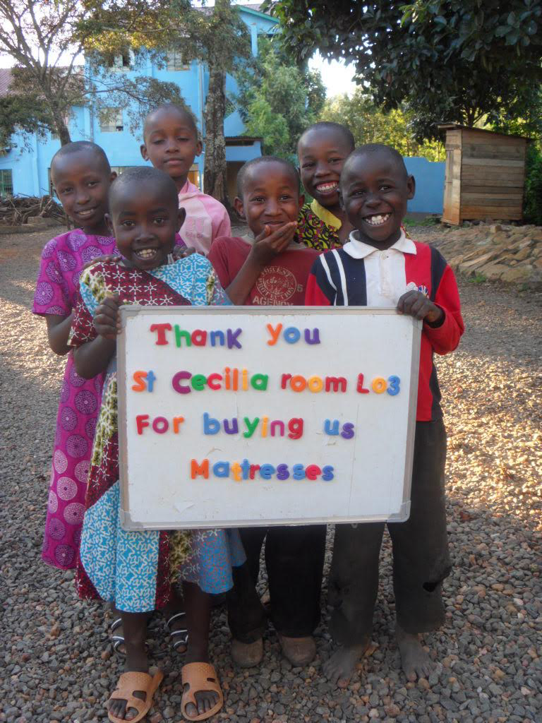 St Cecilia FDK students fundraise for orphanage in Kenya