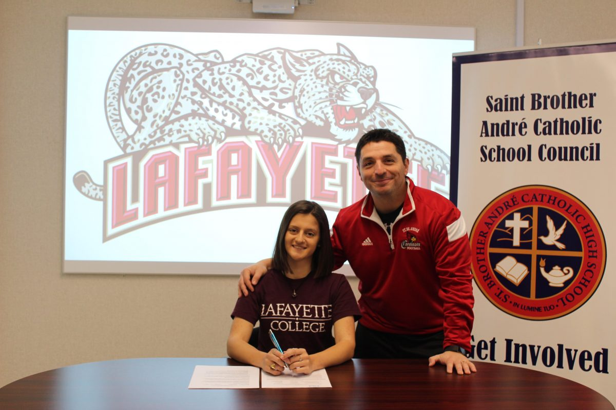 SBA student earns a full scholarship to play soccer for Lafayette College