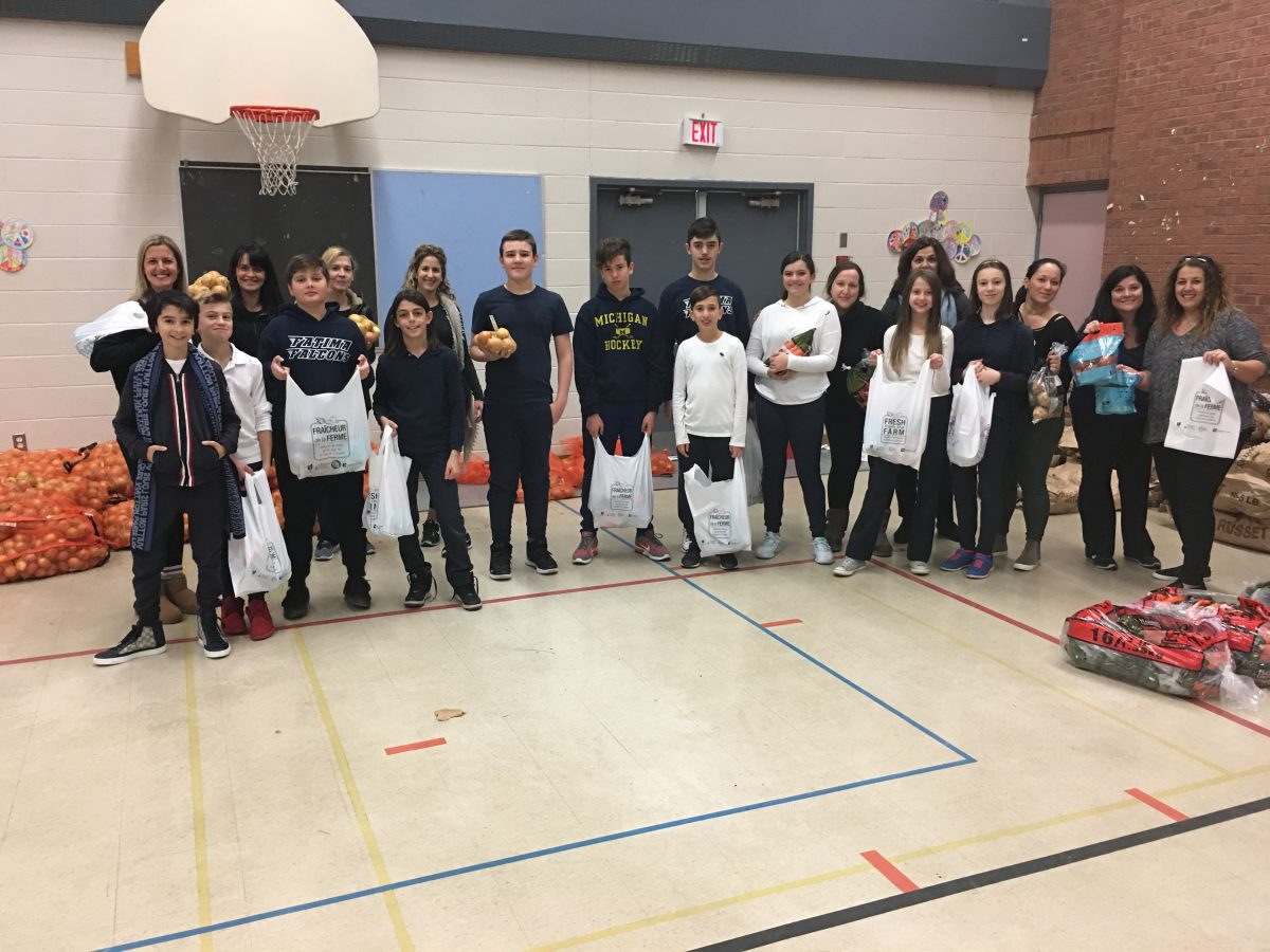 Our Lady of Fatima works with Second Harvest Charity