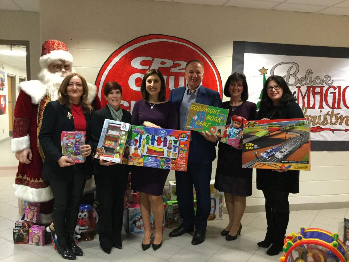 St. Padre Pio Catholic School Community hosts the City of Vaughan 2017 Annual Toy Drive Launch, in support of the  CP24 Chum Christmas Wish