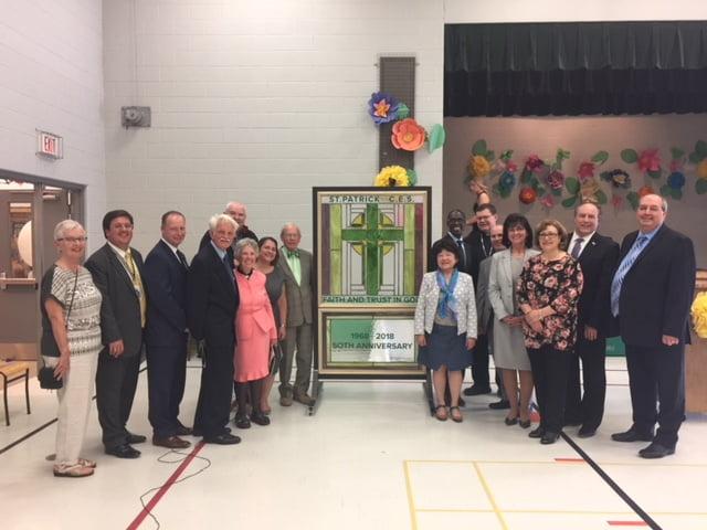 St. Patrick school celebrates 50 years of Catholic Education in Schomberg